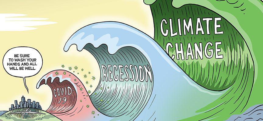Editorial Cartoon by Graeme MacKay, The Hamilton Spectator – Wednesday March 11, 2020
